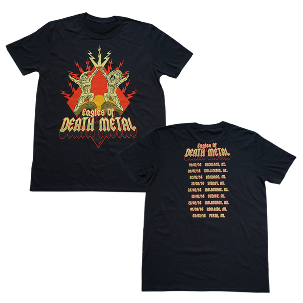 Power Eagle AU 2014 Tour T-Shirt