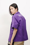 Space Purple Short Sleeve Shirt
