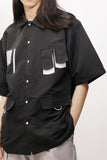 Space Black Short Sleeve Shirt