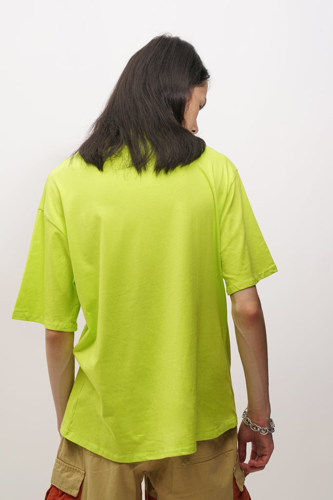Fluorescent green T-shirt