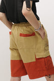 Bi-Colours Cargo Shorts