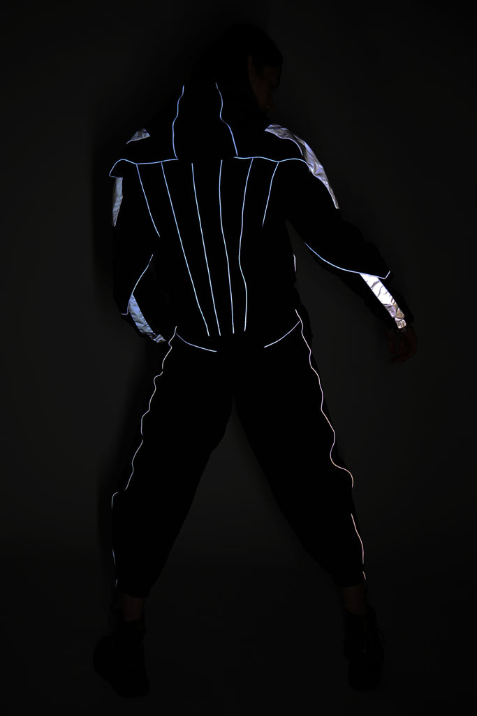 Black Reflective 3M Jogging