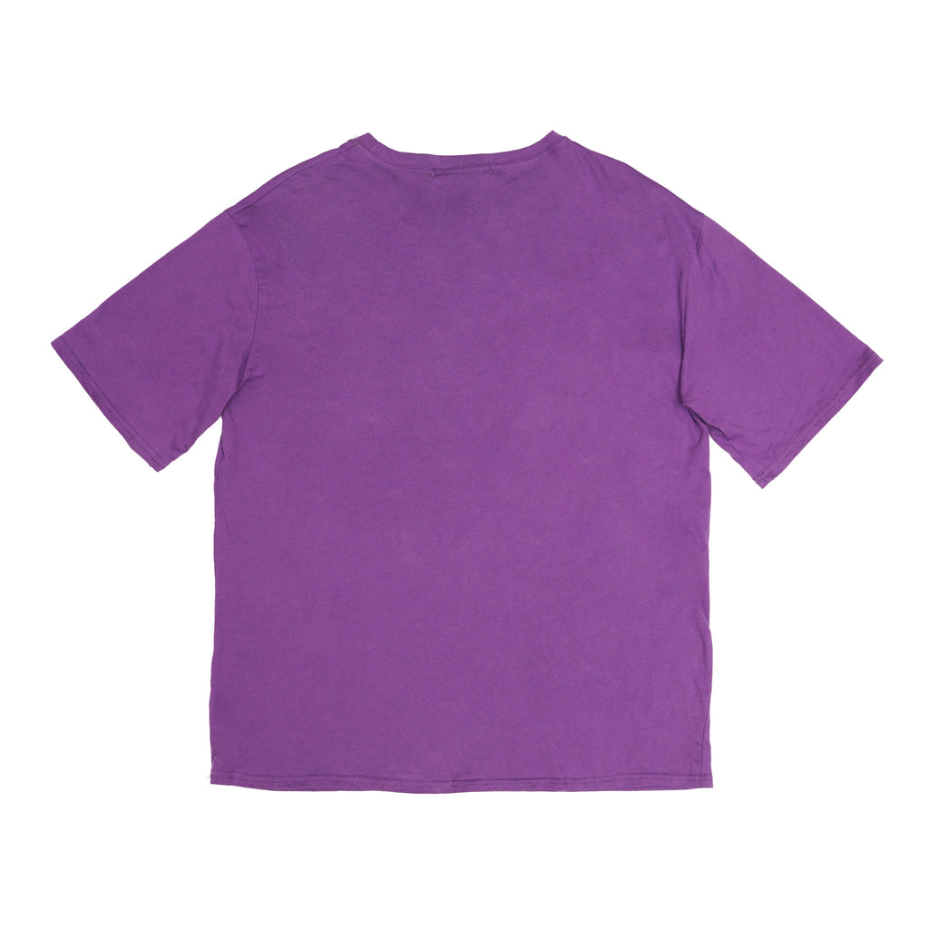 Circuit board purple T-shirt