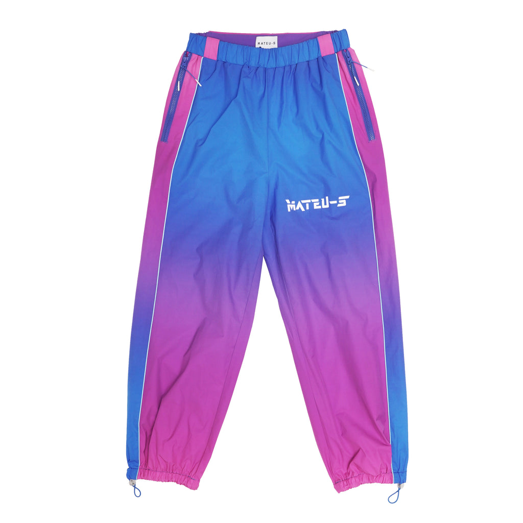 Cyberpunk Gradient Warrior Jogging Pants