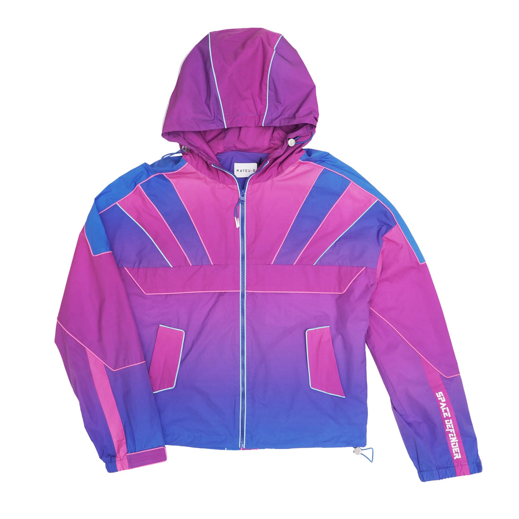 Cyberpunk Gradient Warrior Jacket