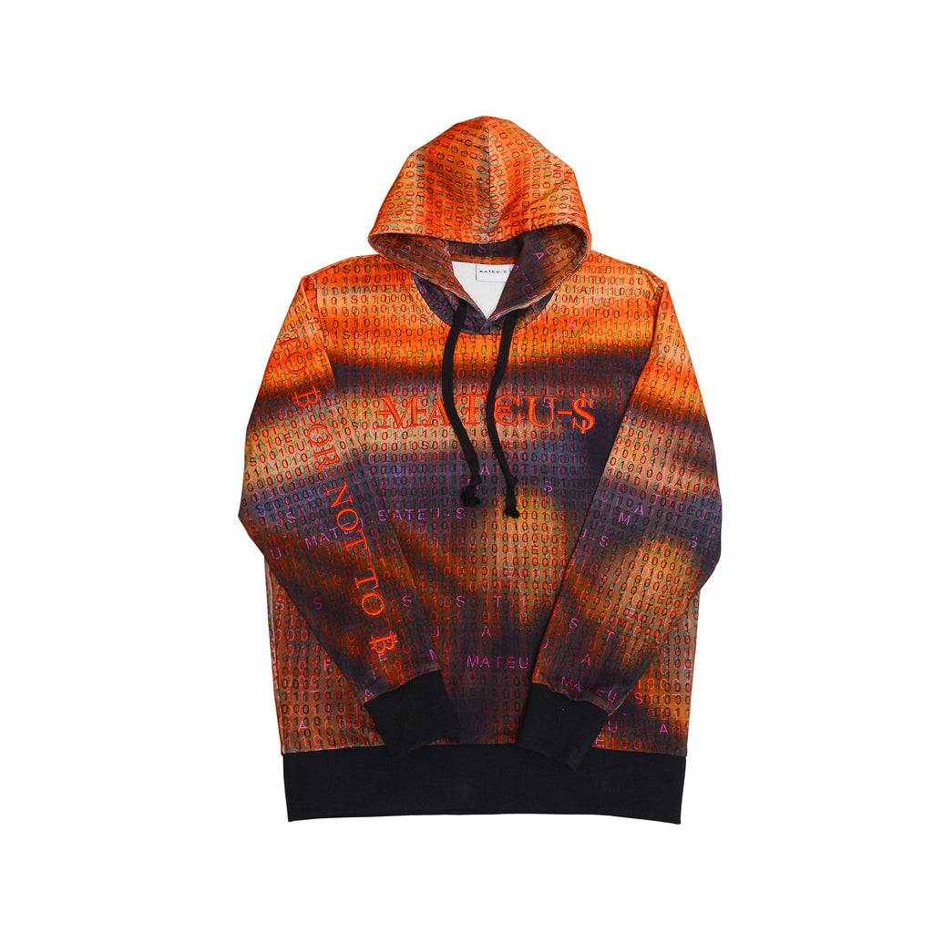 The Scream Printed Hoodie