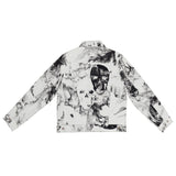 Crystal Meth Printed Denim Jacket