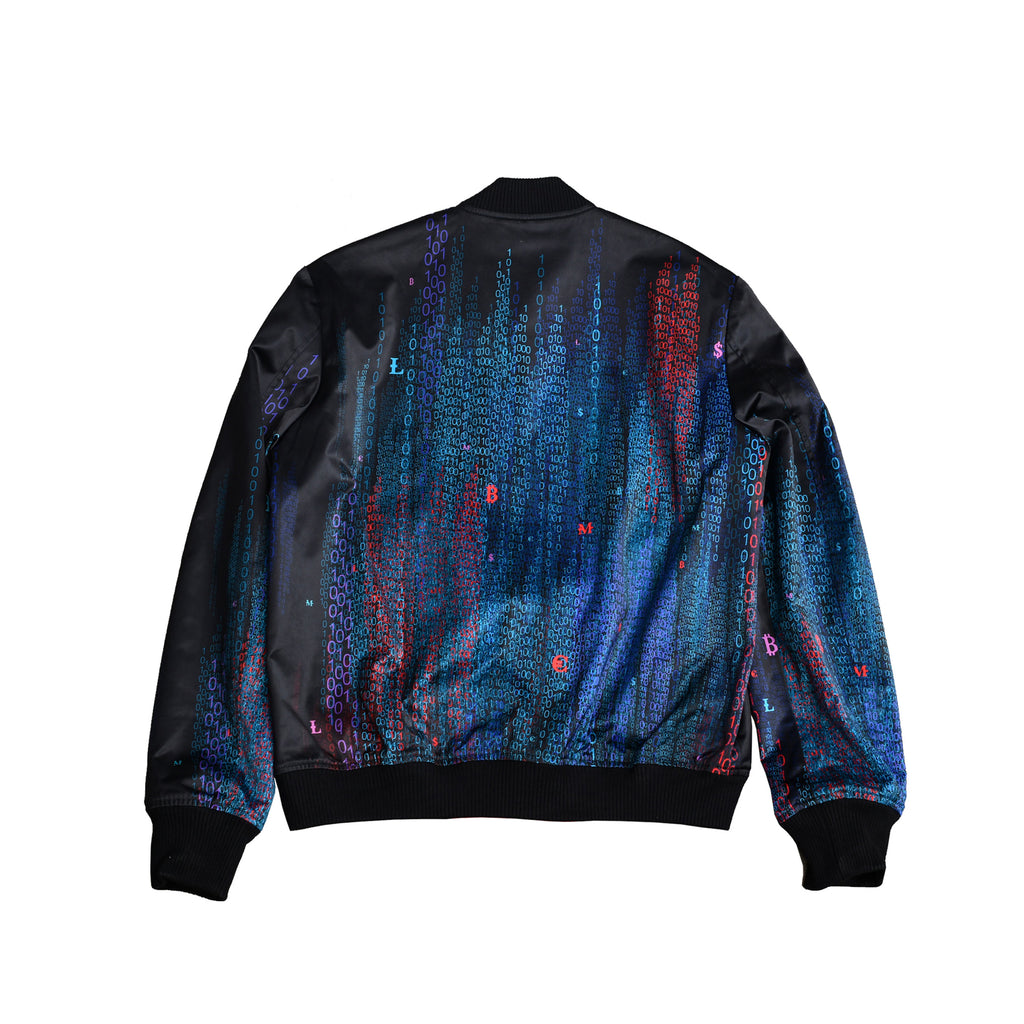 Computer Program Reversible Bomber Jacket