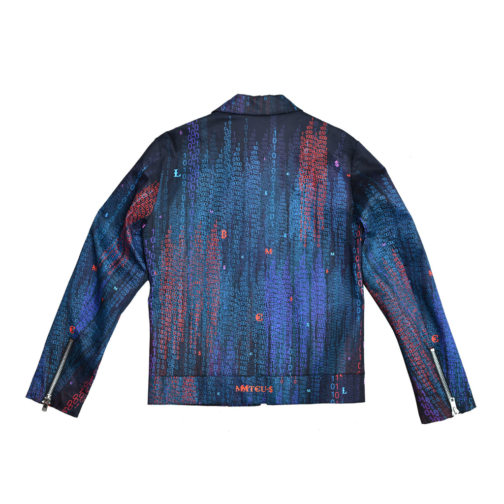 Computer Program Printed Jacket