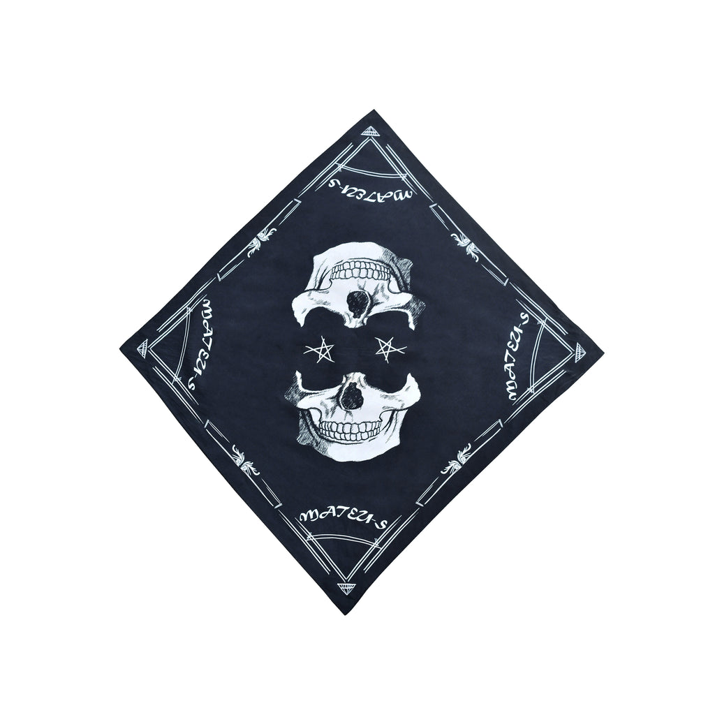 Skull Printed Scarf Face Cover Protection