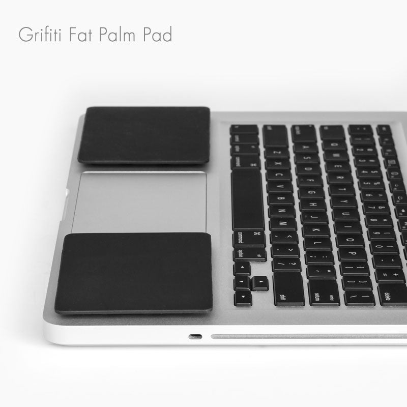 Grifiti Fat Palm Pads Wrist Rests for MacBooks, Laptops, Notebooks - Grifiti