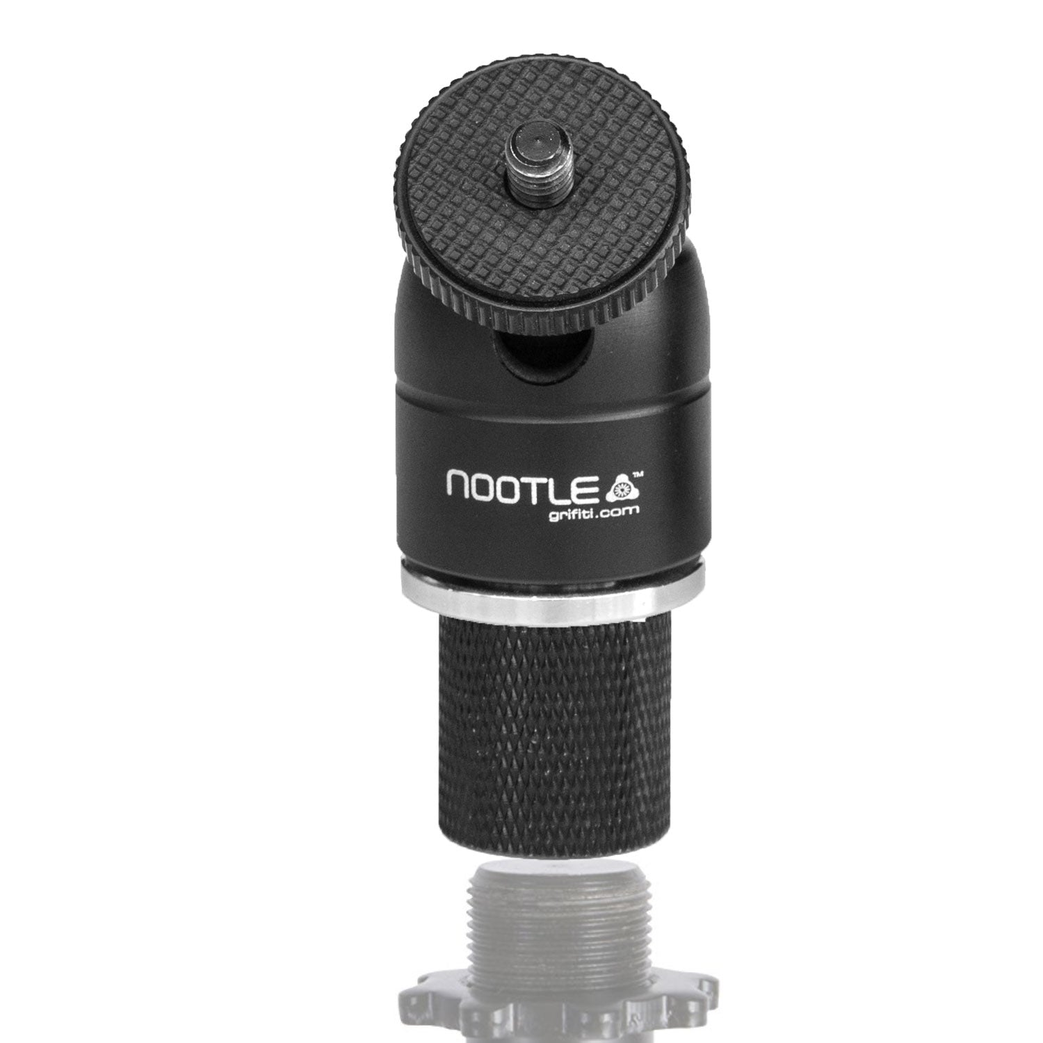 Nootle Mic / Music Stand Adaptor + Mini Ball Head - Grifiti