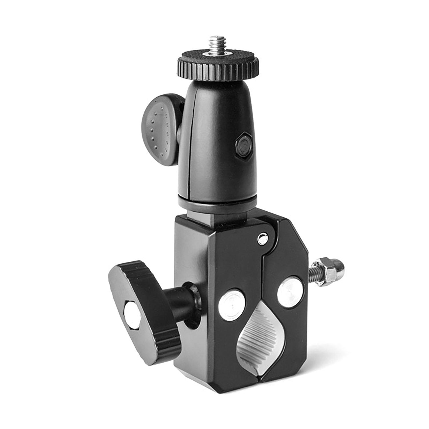Grifiti Nootle Heavy Duty Bar Pipe Bike Clamp Camera Video Phone Mounts - Grifiti