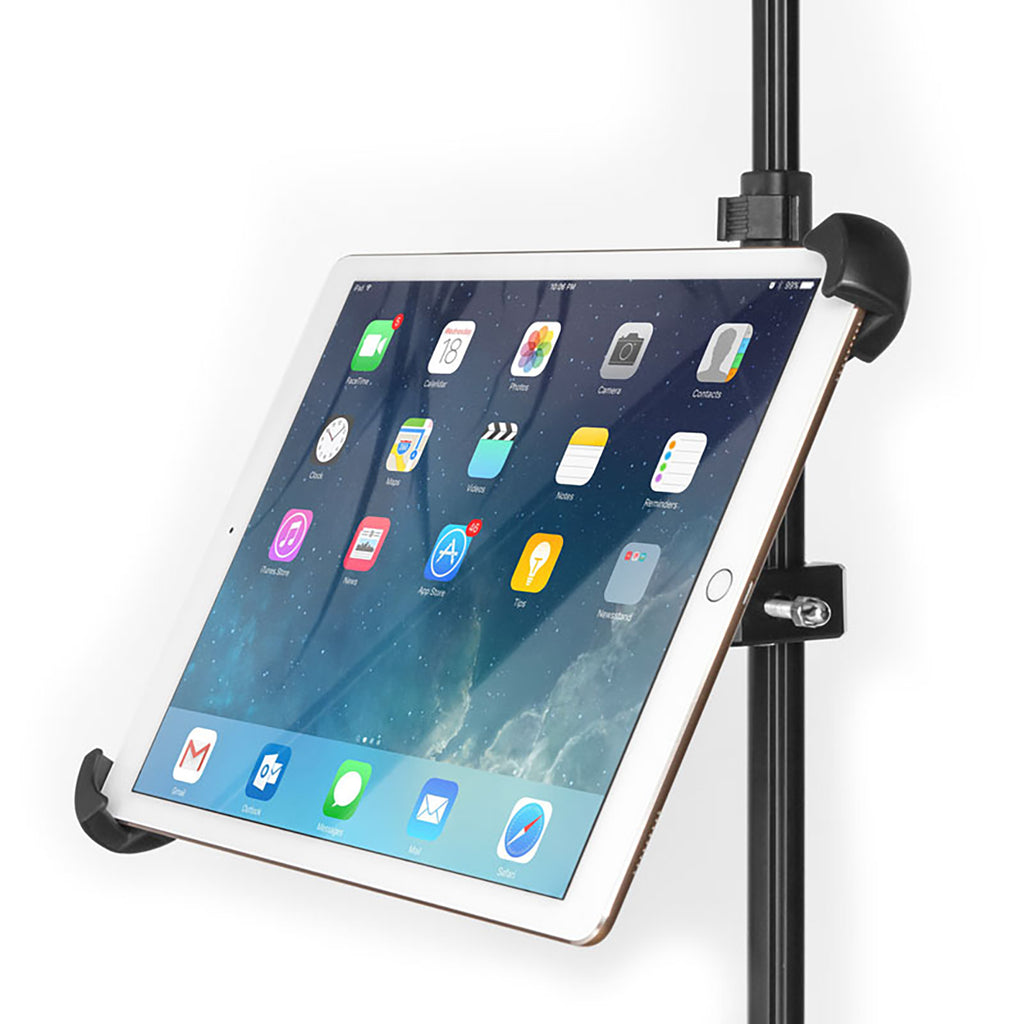 Grifiti Nootle Heavy Duty Bike Bar Metal Clamp + Universal Large Tablet Mount - Grifiti