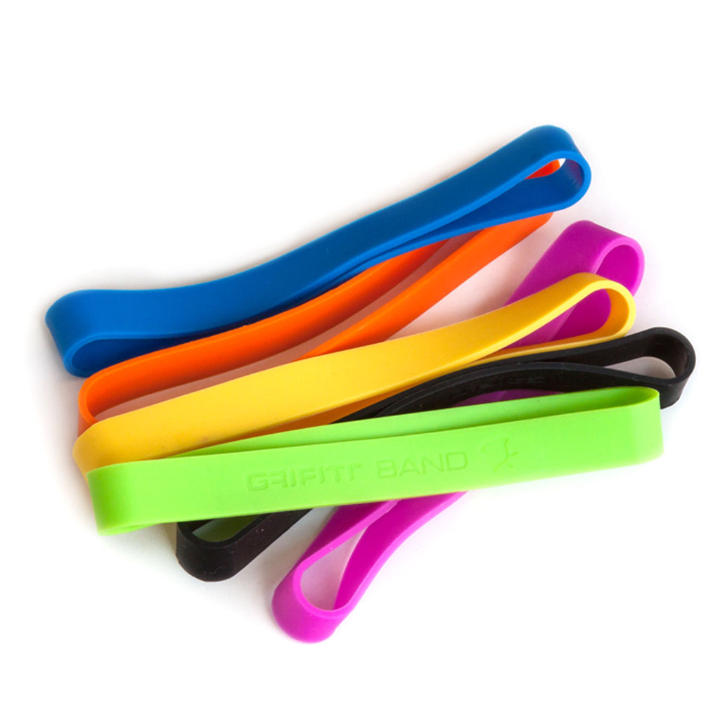 Grifiti Band Joes 6 x .75 Silicone Rubber Bands for Cooking Books Boxes Travel - Grifiti