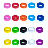 Grifiti Band Joes 1 x 0.25 inch Mini Silicone Bands (20pk) for Cords Rings and Other Things - Grifiti