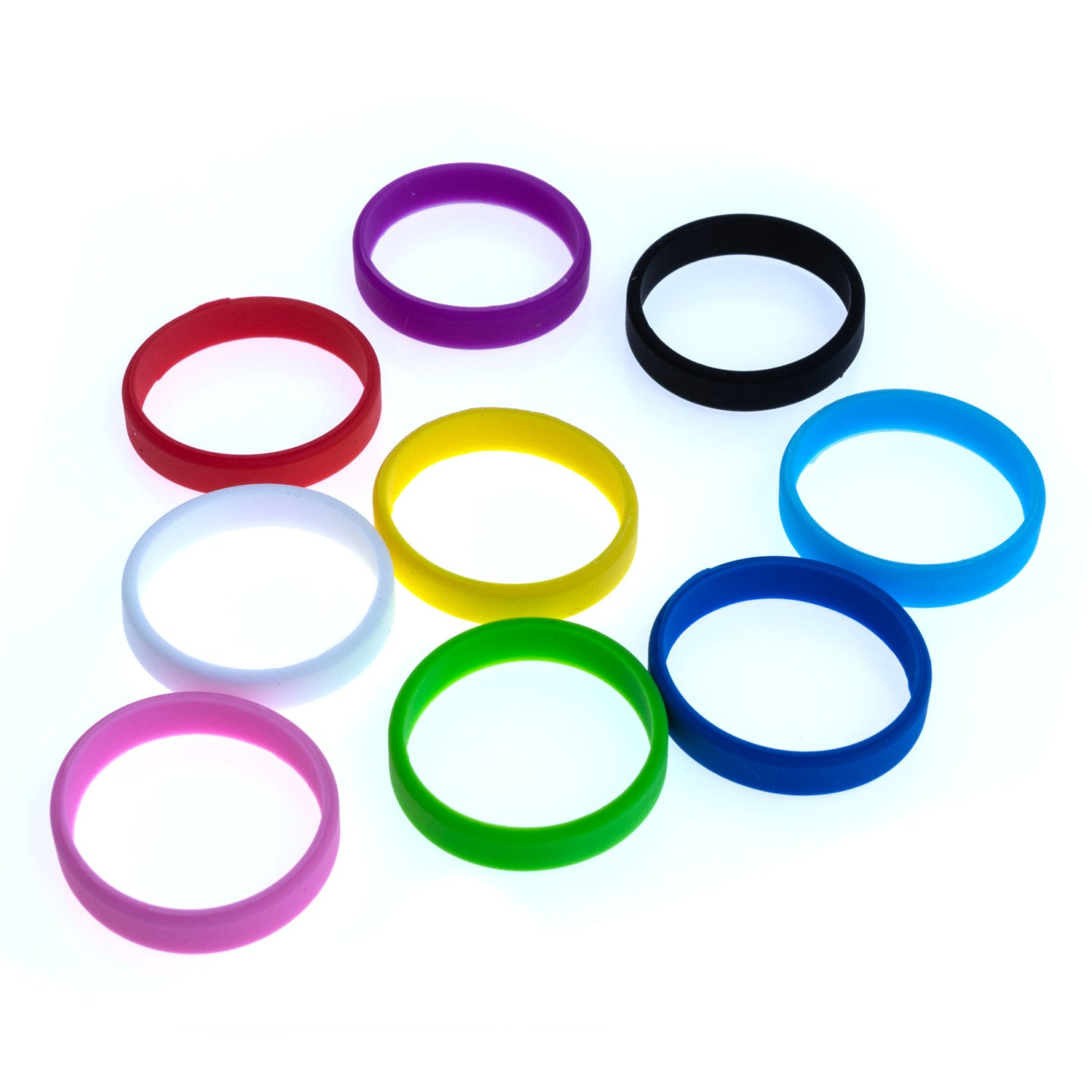 "Grifiti Band Joes 2"" x 0.25"" Silicone Bands (20pk) Cooking, Posters, Boxes, Wraps 1.25"" Diameter - Grifiti"