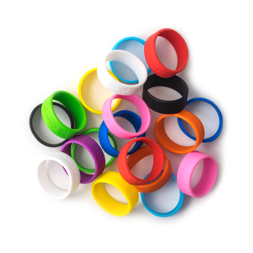 Grifiti Band Joes 2 x .5 inch Long Lasting Silicone Rubber Bands Wrap Up Small Things - Grifiti