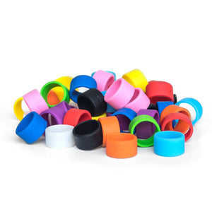 Grifiti Band Joes 1.25 x .5 inch Silicone Bands (5pk) Cords Wraps and Mini Bundles... - Grifiti
