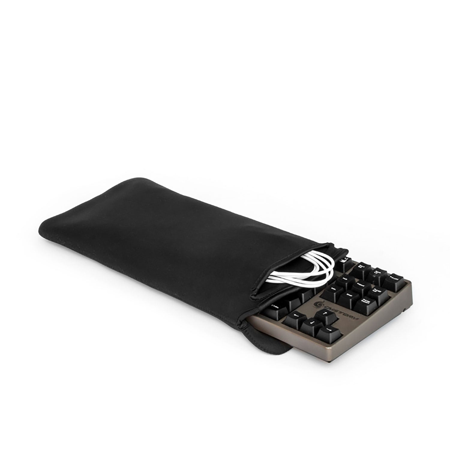 Grifiti Chiton Fat 14 Inch Tenkeyless Mechanical Keyboard Sleeve with Pocket - Grifiti