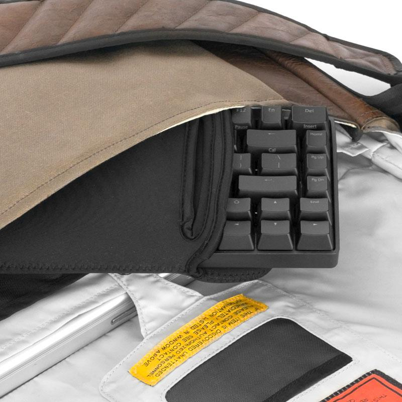 Grifiti Chiton Fat 14 Inch Gaming Mechanical Keyboard Sleeve with Pocket - Grifiti