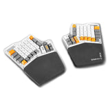 Grifiti Ergodox Fat Wrist Pad Set Nylon Surface Wrist Rests