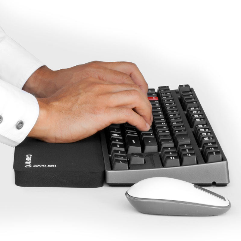 Grifiti Fat Wrist Pad 14 Inch Wrist Rest for Tenkeyless Mechanical Keyboards and Large Laptops - Grifiti