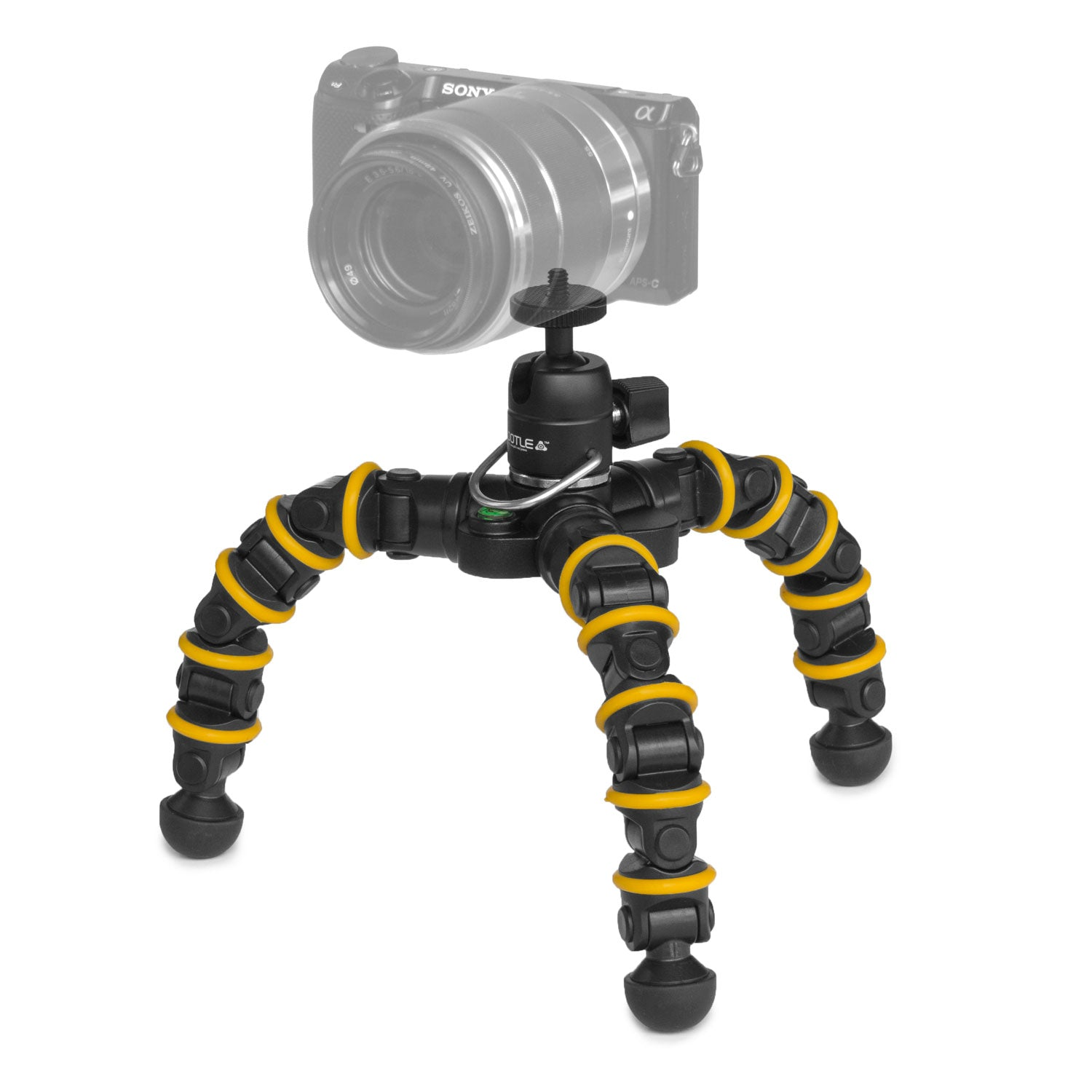 Grifiti Nootle Recon 6 Camera Video Flexpod Flexible Mount Desktop Travel Tripod - Grifiti