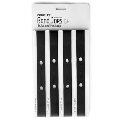 Grifiti Band Joes 7.5 inch Silicone Pen Loop Bands for Pens Pencils Stylus (4pk) - Grifiti