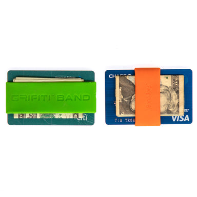 Grifiti Band Joes Slim Wallet 2pk Silicone Pocket Bands Horizontal and Vertical - Grifiti