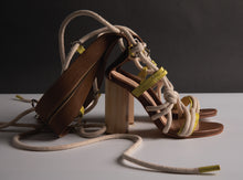 Load image into Gallery viewer, URBANO RIOT GLADIATOR HEELS