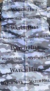 Watch Hill Black and White Camo Neck Gaiter/Buff