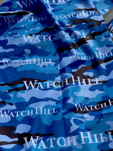 Watch Hill Blue Camo Neck Gaiter/Buff