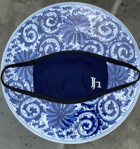 Navy JH MASK with Black Straps