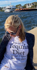 On a Tequila Diet  UNISEX T Shirt