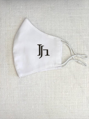 White JH Mask with Grommets