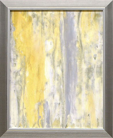Yellow and Grey Abstract I