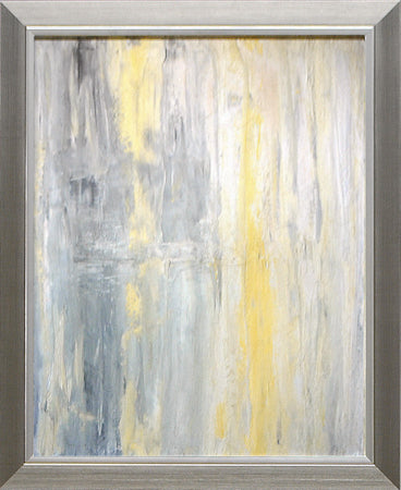 Yellow & Grey Abstract II