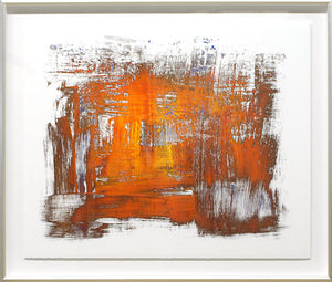 Orange Elemental Abstract