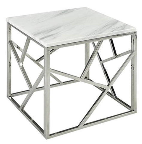 Carole Marble Side Table