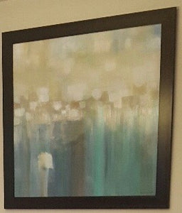 Aqua Light Contemporary frame