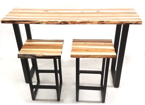 Split Live Edge Pub Set