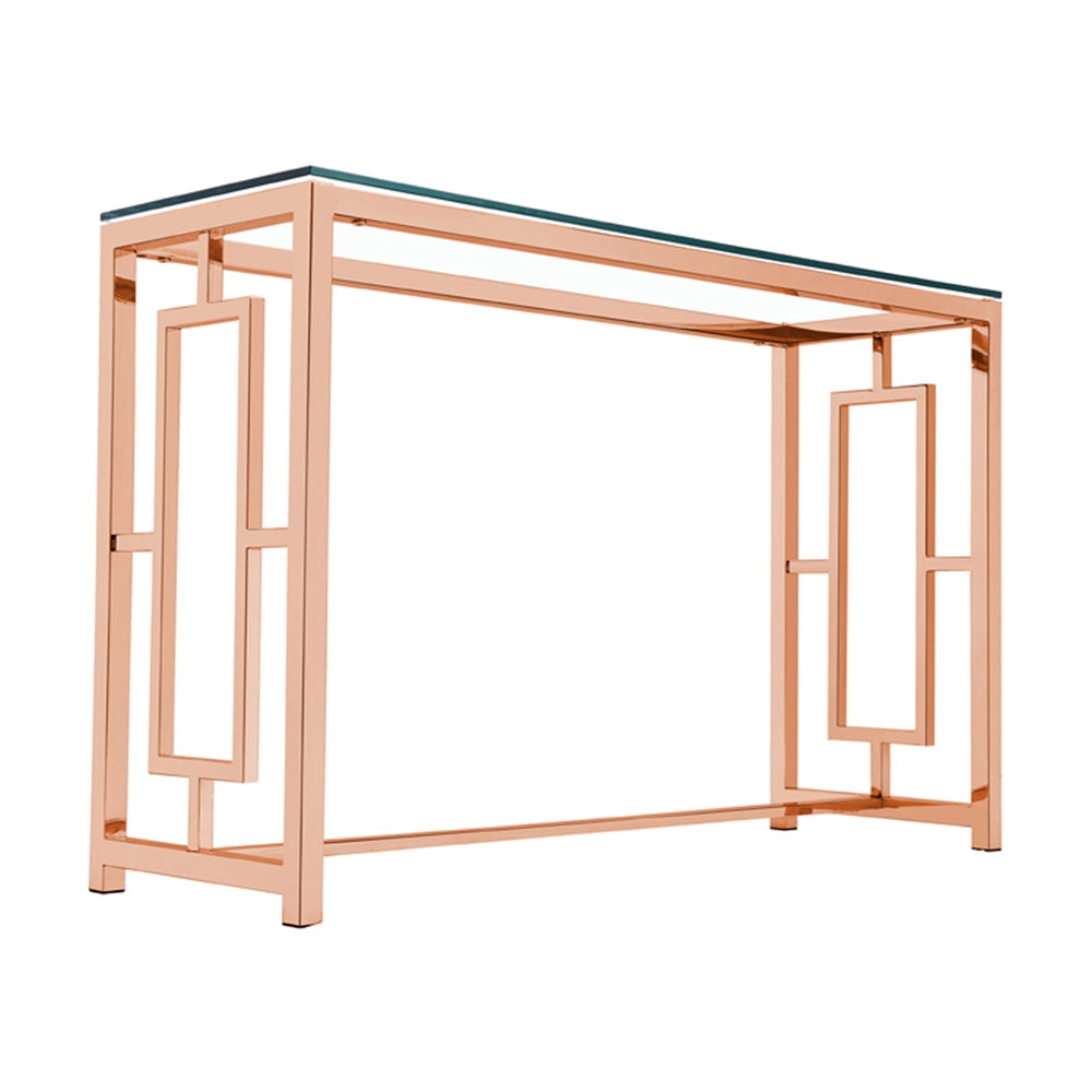 Rose Gold Zenzi Console Table