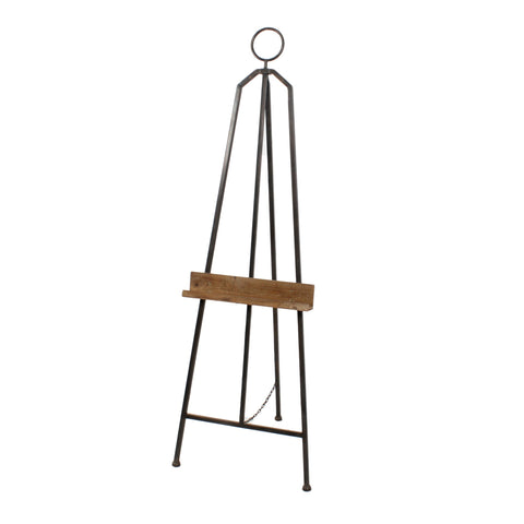 Easel With Wood Ledge