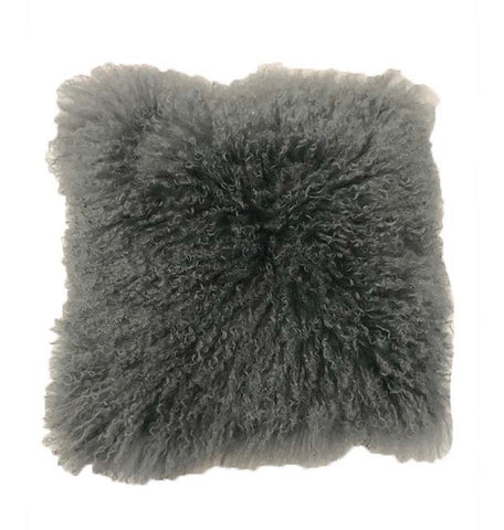 Grey Mongolian Fur