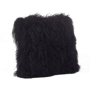 Black Mongolian Sheepskin
