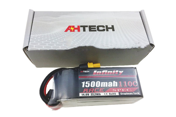 Infinity Race 4S 1500mah 110C Lipo Battery