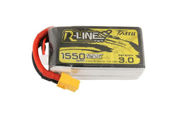 Tattu R-Line 3.0 4S 1550mah 120C Lipo Battery