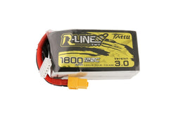 Tattu R-Line 3.0 4S 1800mah 120C Lipo Battery