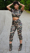 Load image into Gallery viewer, ON THE GO Camo 2 Piece Set